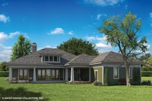 Architectural House Design - Craftsman Exterior - Rear Elevation Plan #930-462