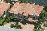 Mediterranean Style House Plan - 7 Beds 8.5 Baths 6412 Sq/Ft Plan #420-190
