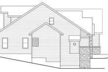 Traditional Exterior - Other Elevation Plan #124-733
