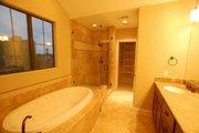 Mediterranean Style House Plan - 3 Beds 3.5 Baths 2375 Sq/Ft Plan #449-19 Interior - Master Bathroom