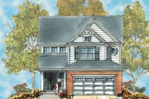 Farmhouse Exterior - Front Elevation Plan #20-1659