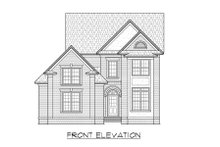 Traditional Exterior - Front Elevation Plan #1054-74