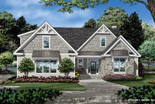 Architectural House Design - Craftsman Exterior - Front Elevation Plan #929-1112