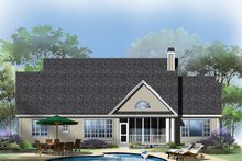 Traditional Exterior - Rear Elevation Plan #929-963
