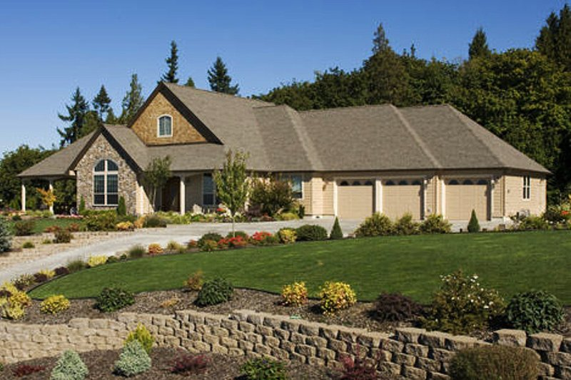 Home Plan - Traditional Exterior - Front Elevation Plan #48-234