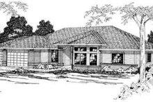 Home Plan - Modern Exterior - Front Elevation Plan #124-167