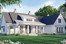 House Plan Design - Farmhouse Exterior - Front Elevation Plan #51-1171