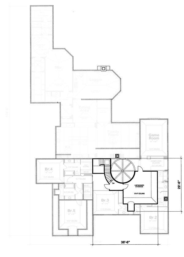 European Floor Plan - Other Floor Plan #20-2167
