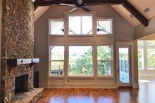 Craftsman Interior - Family Room Plan #437-85