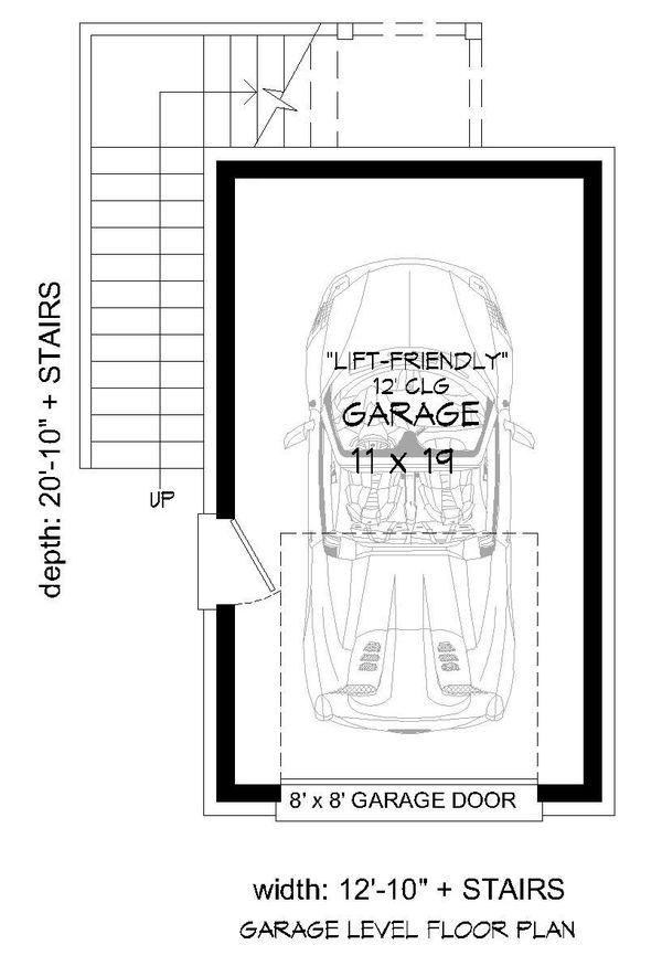 Country Floor Plan - Main Floor Plan Plan #932-302