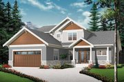 Traditional Style House Plan - 4 Beds 3.5 Baths 2614 Sq/Ft Plan #23-2548 Exterior - Front Elevation