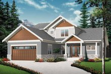 Traditional Exterior - Front Elevation Plan #23-2548