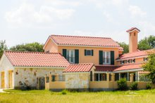 Home Plan - Mediterranean Exterior - Front Elevation Plan #80-154