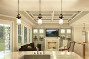 Ranch Style House Plan - 3 Beds 2.5 Baths 2000 Sq/Ft Plan #1010-212 Interior - Family Room