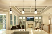 Ranch Interior - Family Room Plan #1010-212