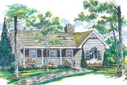 Traditional Style House Plan - 3 Beds 2 Baths 1475 Sq/Ft Plan #47-148 Exterior - Other Elevation