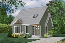 Craftsman Exterior - Front Elevation Plan #23-2092