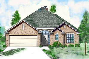 Traditional Exterior - Front Elevation Plan #52-210