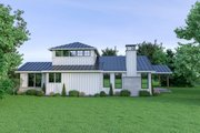 Farmhouse Style House Plan - 4 Beds 3 Baths 1871 Sq/Ft Plan #1070-74 Exterior - Other Elevation