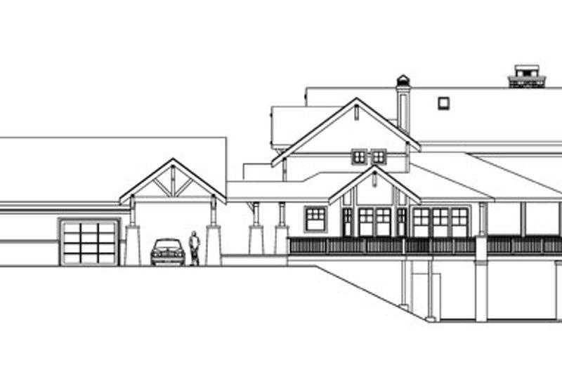 European Exterior - Other Elevation Plan #124-586 - Houseplans.com