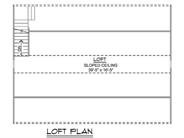 Dream House Plan - Craftsman Floor Plan - Upper Floor Plan #1064-90