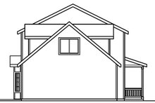 Colonial Exterior - Other Elevation Plan #124-360