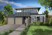 Modern Style House Plan - 4 Beds 2.5 Baths 3442 Sq/Ft Plan #496-5 Exterior - Other Elevation