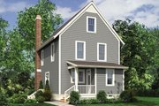 Traditional Style House Plan - 3 Beds 3.5 Baths 2284 Sq/Ft Plan #48-965 Exterior - Rear Elevation