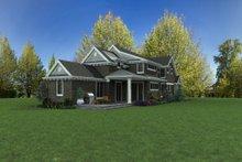 Home Plan - Craftsman Exterior - Rear Elevation Plan #48-1007