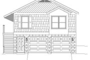 Country Style House Plan - 1 Beds 1 Baths 780 Sq/Ft Plan #932-139 Exterior - Front Elevation