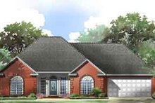 Traditional Exterior - Front Elevation Plan #21-164