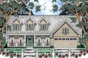Country Style House Plan - 3 Beds 2 Baths 1747 Sq/Ft Plan #42-302