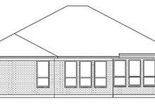 Dream House Plan - European Exterior - Rear Elevation Plan #84-245