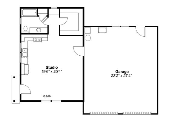 Traditional Floor Plan - Main Floor Plan Plan #124-942