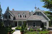 Southern Style House Plan - 4 Beds 4 Baths 3549 Sq/Ft Plan #137-202 Exterior - Front Elevation