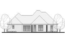Dream House Plan - European Exterior - Rear Elevation Plan #430-116