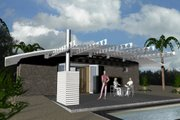 Modern Style House Plan - 1 Beds 1 Baths 449 Sq/Ft Plan #535-7
