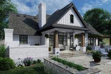 House Plan Design - Farmhouse Exterior - Rear Elevation Plan #120-264