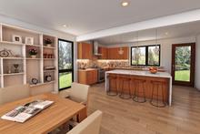 Contemporary Interior - Kitchen Plan #48-1019