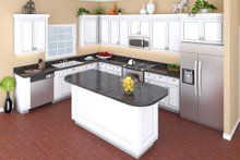 Home Plan - European Interior - Kitchen Plan #21-339