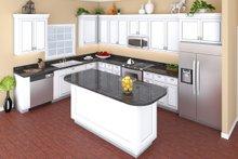 European Interior - Kitchen Plan #21-339