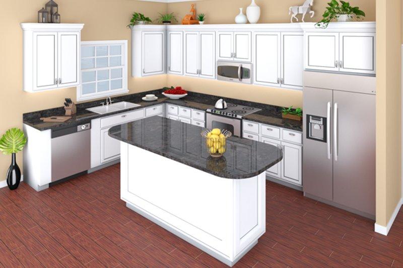 European Interior - Kitchen Plan #21-339 - Houseplans.com