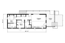 Cottage Floor Plan - Main Floor Plan Plan #497-23