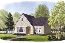 Dream House Plan - European Exterior - Front Elevation Plan #410-132