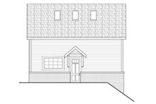 Architectural House Design - Traditional Exterior - Other Elevation Plan #124-1155
