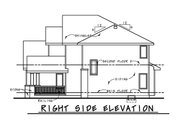 Craftsman Style House Plan - 4 Beds 3.5 Baths 2540 Sq/Ft Plan #20-2328 Exterior - Other Elevation