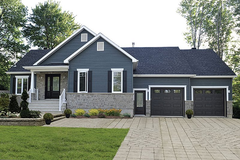 Dream House Plan - Ranch Exterior - Front Elevation Plan #23-2615