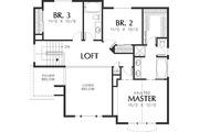 Craftsman Style House Plan - 3 Beds 2.5 Baths 2044 Sq/Ft Plan #48-114