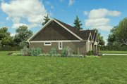 Craftsman Style House Plan - 3 Beds 2 Baths 1605 Sq/Ft Plan #48-998 Exterior - Other Elevation