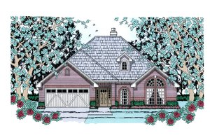 House Design - Traditional Exterior - Front Elevation Plan #42-388